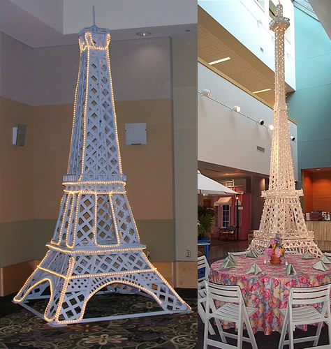 String Lights Eiffel Tower : IYP - Paris
